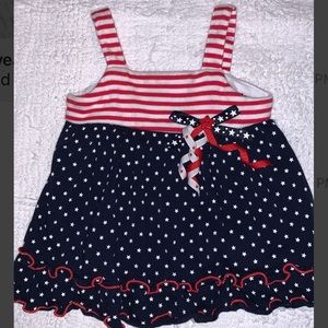 💔 💙 FREE Fourth of July Baby 👶🏼Infant Dress